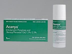 Acanya (Generic Benzoyl Peroxide Topical)