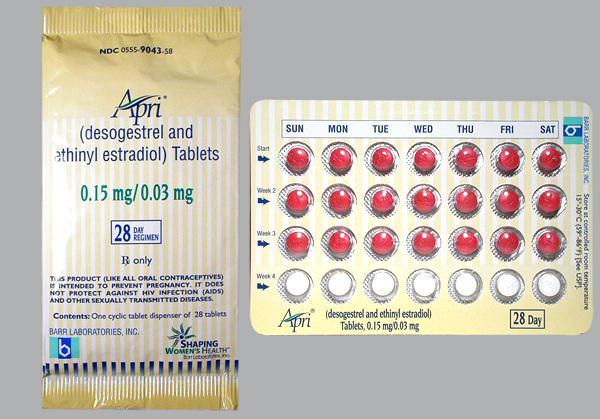 Birth Control Pills Generic Estrogen And Progestin Oral