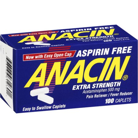 Anacin P M  Aspirin Free (Generic Diphenhydramine