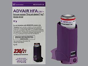 Advair Hfa Generic Fluticasone And Salmeterol Oral Inhalation Prescriptiongiant