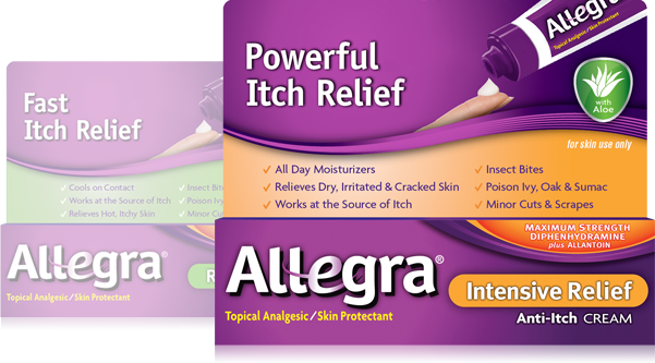 Allergic Itch Relief (Generic Diphenhydramine Topical
