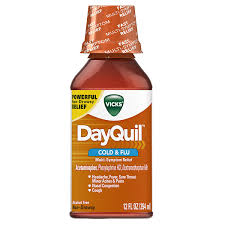 Anal bleeing caused by dayquil