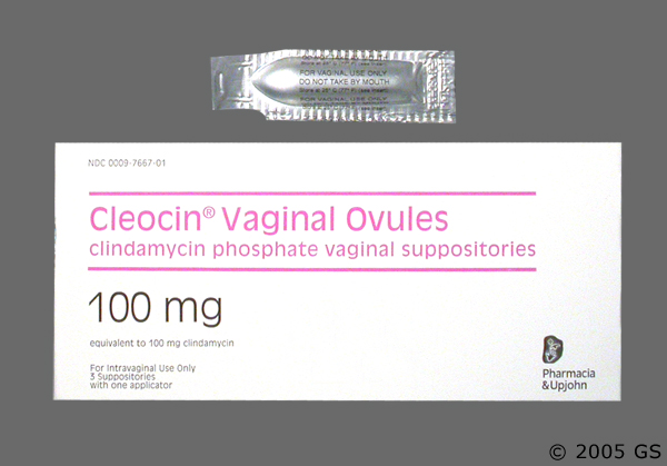 Cleocis vaginal ovules