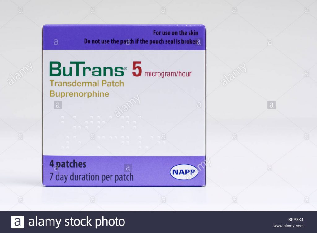 Buprenorphine transdermal patch: an overview for use in chronic pain.