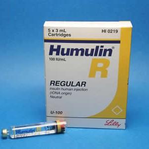 Humulin r gas prices